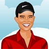 Tiger Woods Dressup